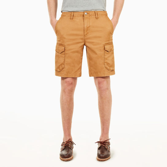 Squam Lake Cargo Short voor Heren in Geel | Timberland