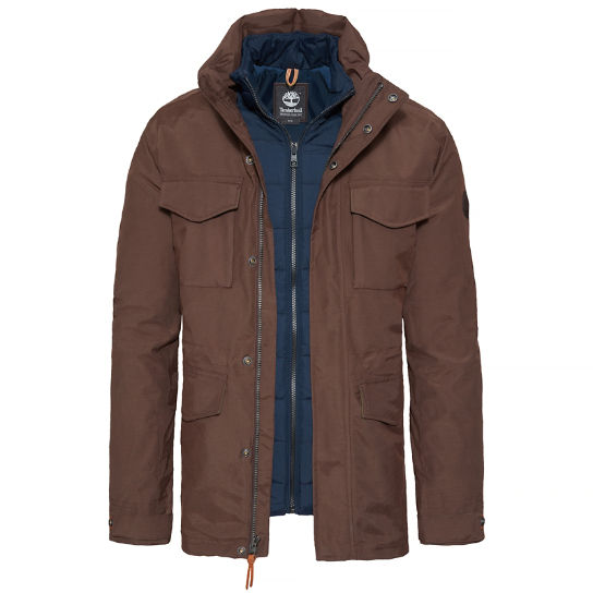 Snowdon Peak 3-in-1 M65 Jacket Bruin Heren | Timberland