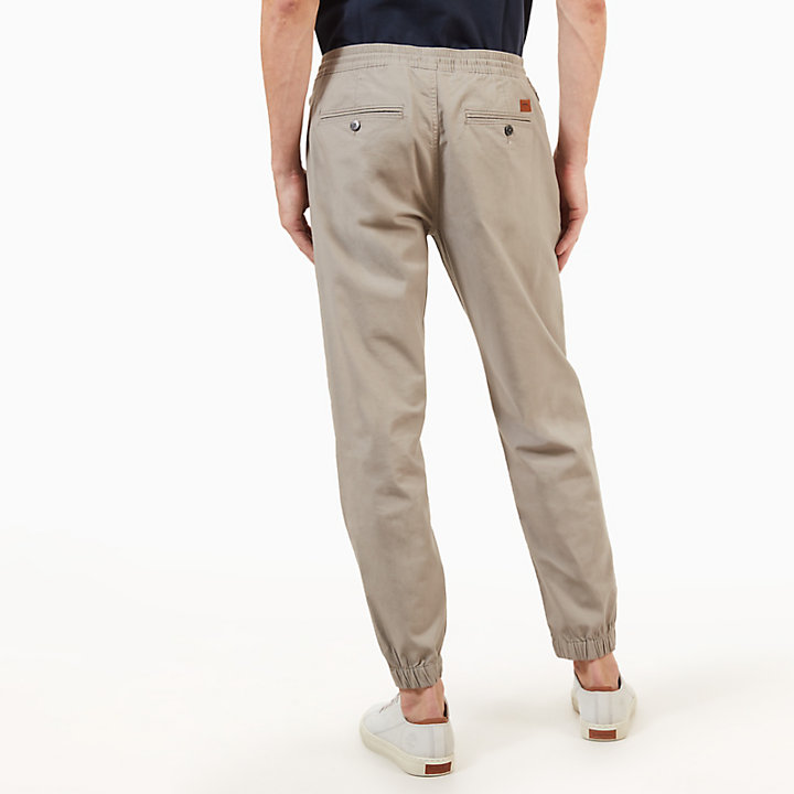 Lovell Lake Chino voor Heren in Grijs-Beige-