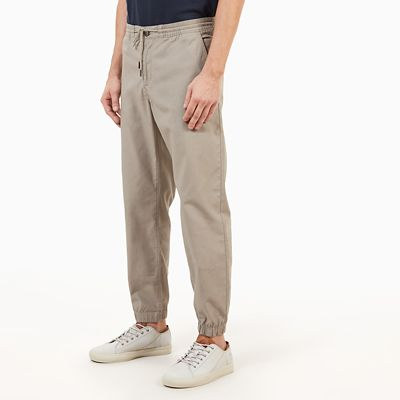 Lovell+Lake+Chino+voor+Heren+in+Grijs-Beige