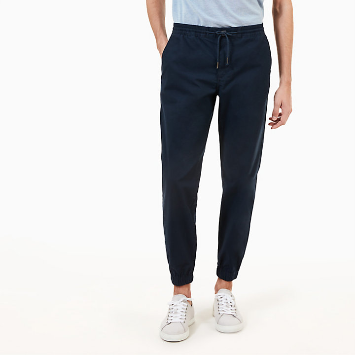 Lovell Lake Chinos for Men in Navy-