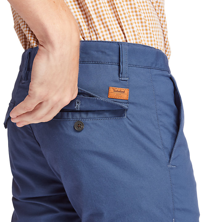 Sargent Lake Stretch Chinos for Men in Blue-