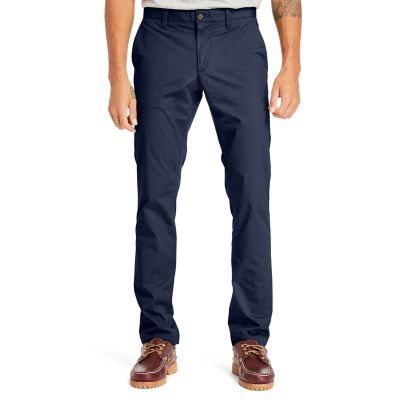 Sargent+Lake+Poplin+Chinos+for+Men+in+Navy