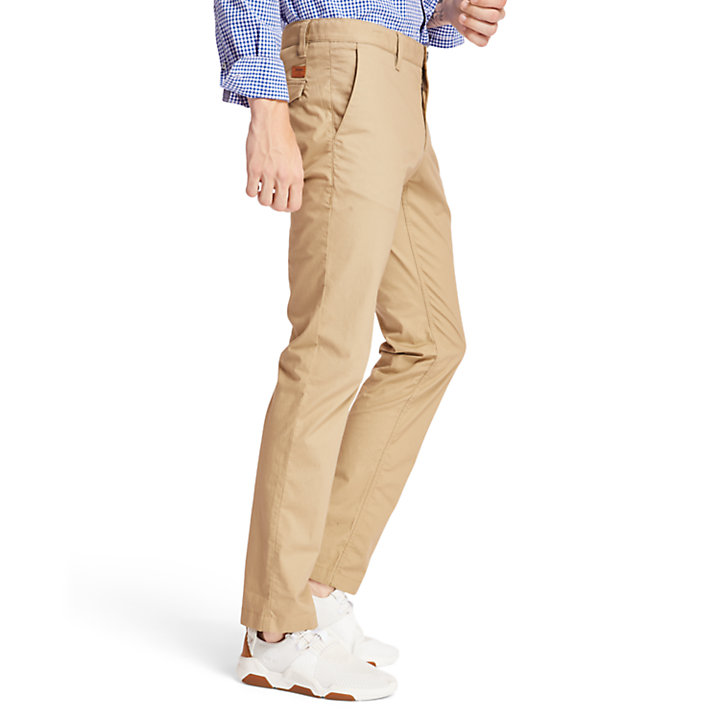 Sargent Lake Stretch Chinos for Men in Khaki-