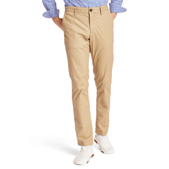 Sargent Lake Stretch Chinos for Men in Khaki | Timberland