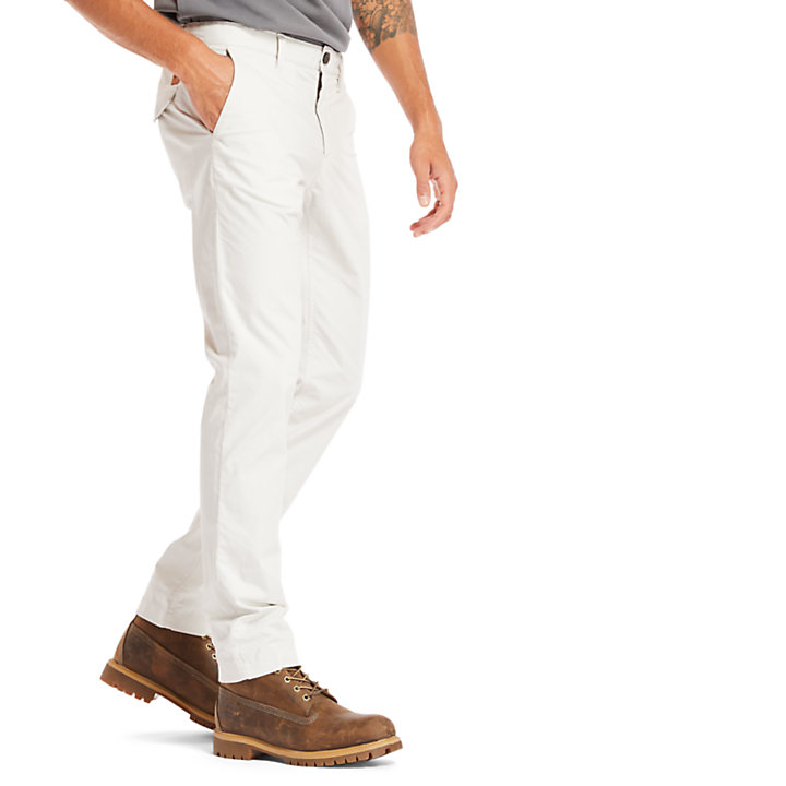 Sargent Lake Stretch-Chino für Herren in Hellgrau-