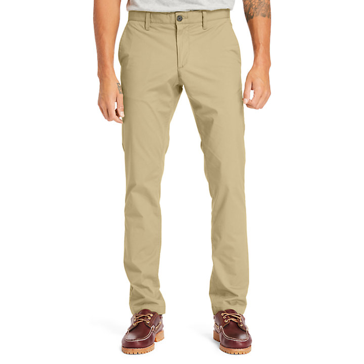 Sargent Lake Stretch-Chino für Herren in Beige-