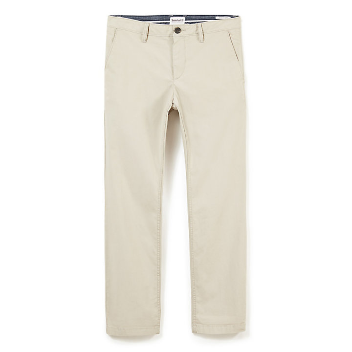 Squam Lake Poplin Chino voor Heren in Grijs-beige-