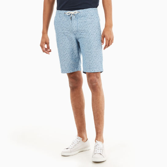 Squam Lake Chambray Short voor Heren in Blauw | Timberland