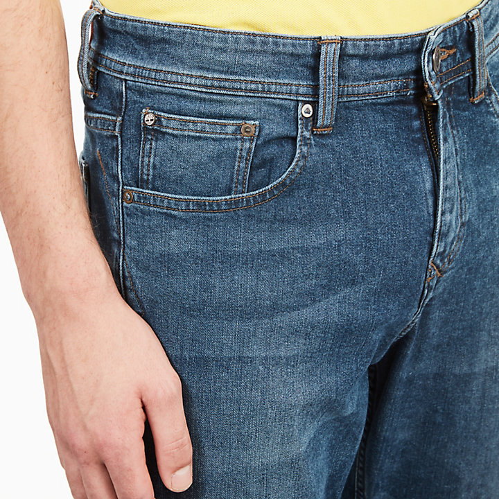 Squam Lake Jeans for Men in Indigo-