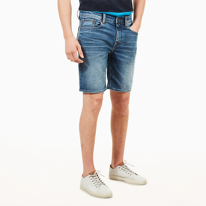 Canobie Lake Shorts for Men in Worn-in Blue-