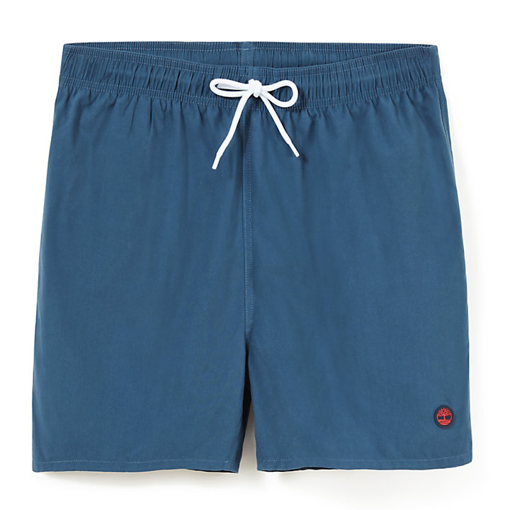 Sunapee Lake Swimming Trunks for Men in Indigo-