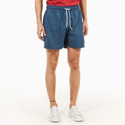 Sunapee+Lake+Swimming+Trunks+for+Men+in+Indigo