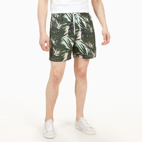 Sunapee Patterned Leisure Shorts for Men in Green | Timberland