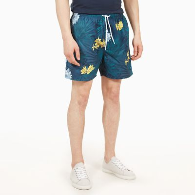 Sunapee+Patterned+Leisure+Shorts+for+Men+in+Yellow