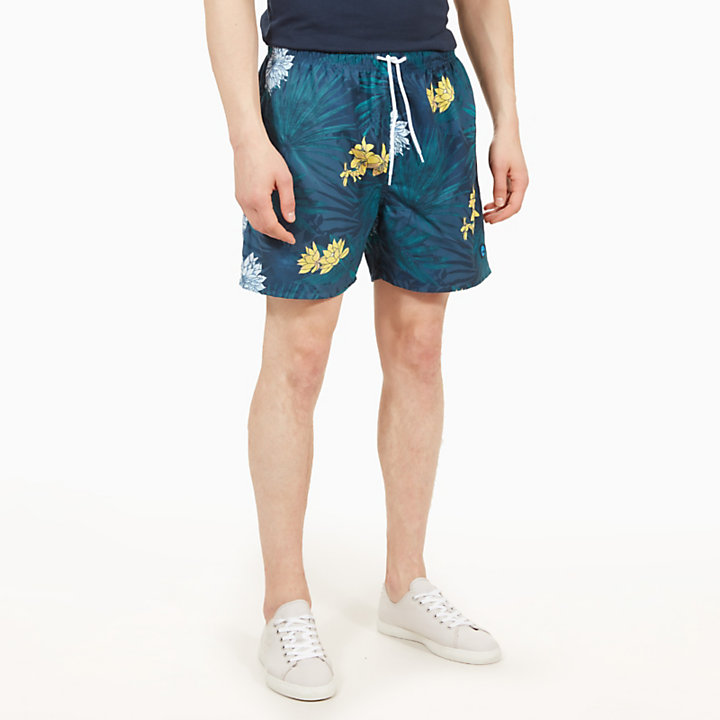 Shorts Mare da Uomo Sunapee Patterned Leisure Gialli-