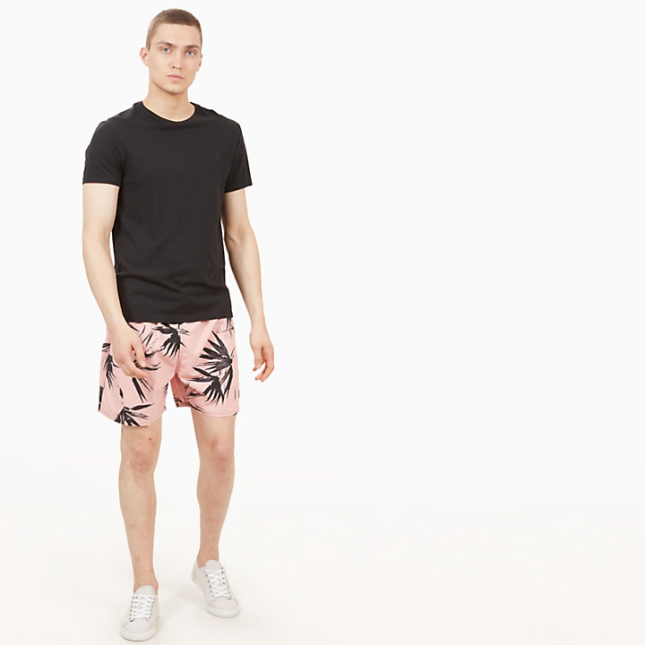 Shorts Mare da Uomo Sunapee Patterned Leisure Rosa-
