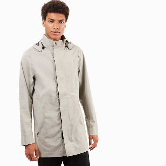 Mount Ascutney Raincoat for Men in Greige | Timberland