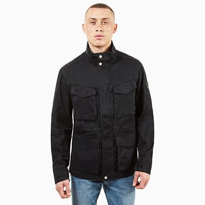 Crocker+Mountain+M65+Jacket+for+Men+in+Black