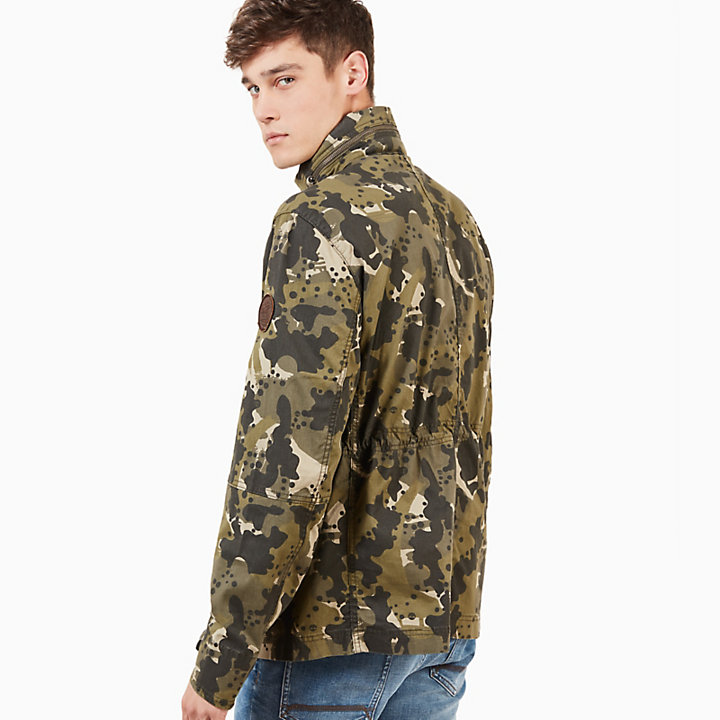 Crocker Mountain M65 Jacket for Men in Green Camo-