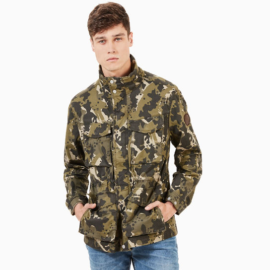 Crocker Mountain M65 Jacket for Men in Green Camo | Timberland