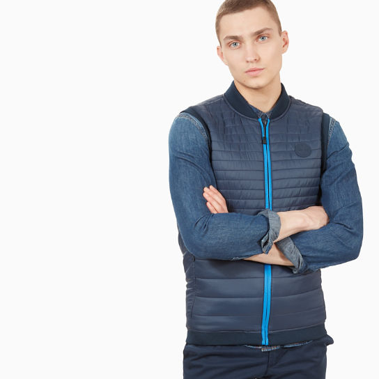 Mount Liberty Vest for Men in Navy | Timberland