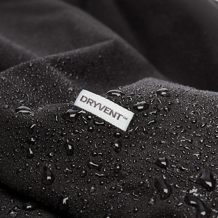Doubletop Mountain 3-in-1 Raincoat for Men in Black-