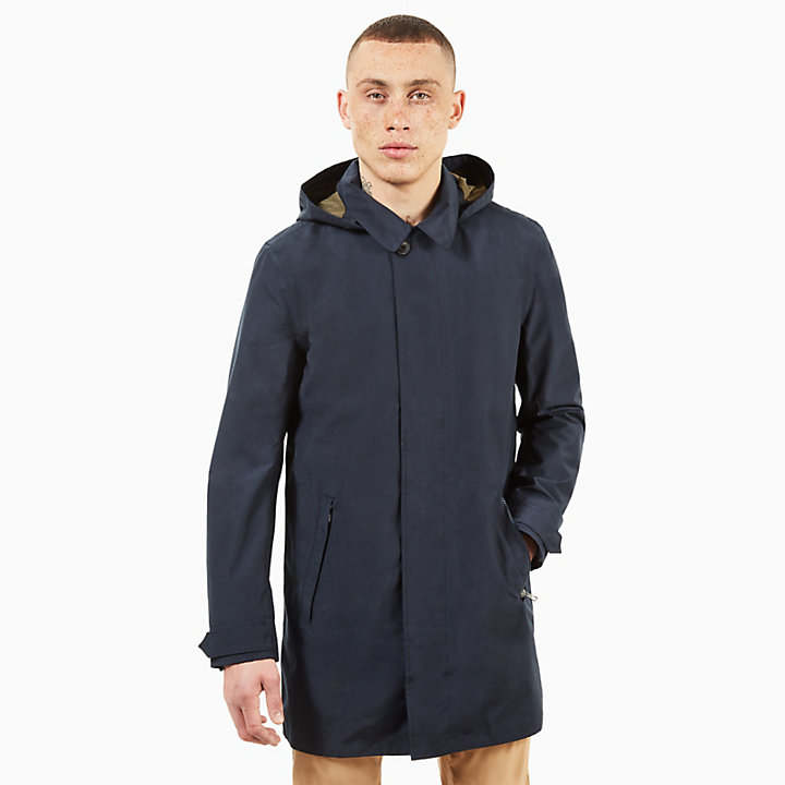Doubletop Mountain 3-in-1 Raincoat for Men in Navy-