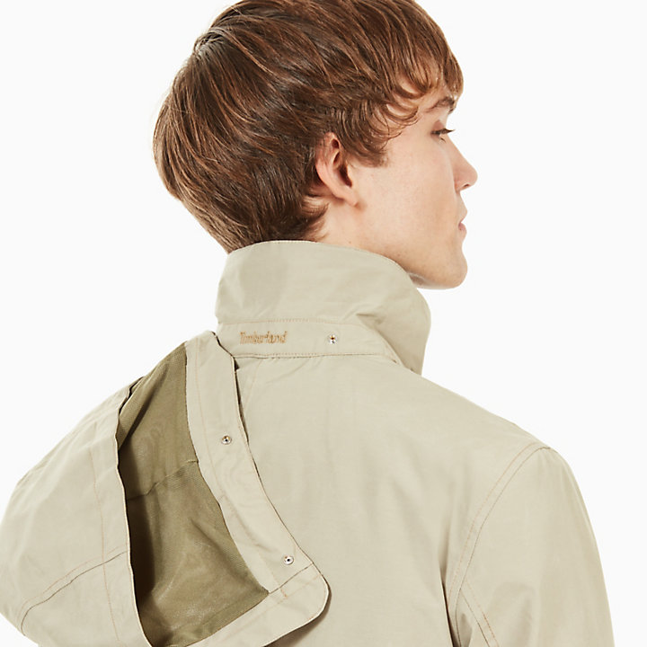 Doubletop Mountain 3-in-1 Raincoat for Men in Beige-