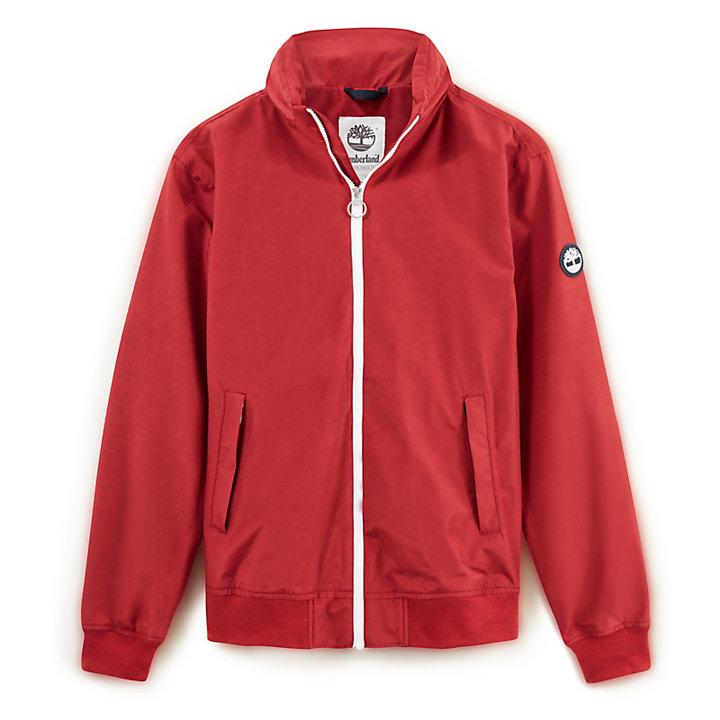 Mt Kearsage Bomber Jacket for Men in Red-