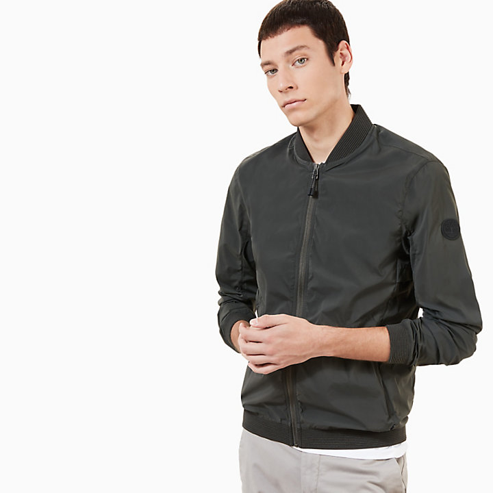 Mount Bigelow Bomber for Men in Dark Green-