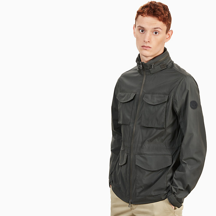 Mount Bigelow Field Jacket for Men in Black-