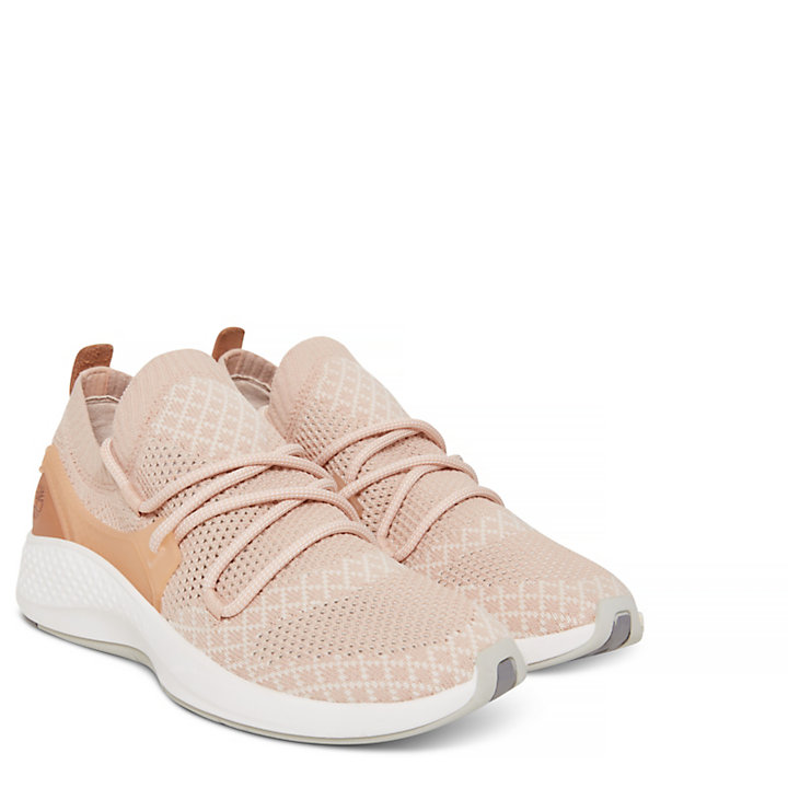 Women's Flyroam Go Sneaker Pale Pink-