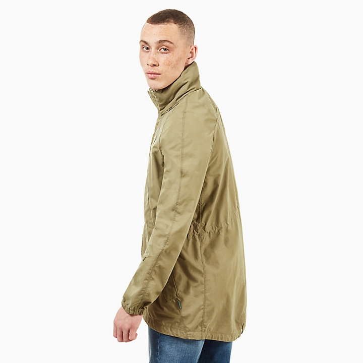 Wildcat Mountain Travel Parka for Men in Green-