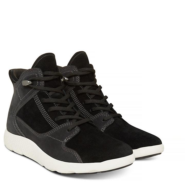 Flyroam Sneakerboot noire Femme-
