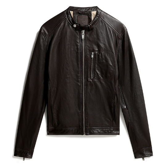 Kinsman Mountain Leather Jacket for Men in Black | Timberland
