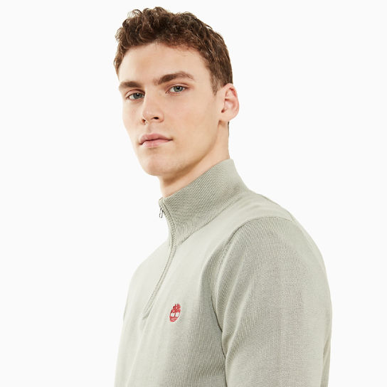 Manhan River V-Neck Sweatshirt for Men in Blue | Timberland