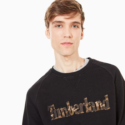 Exeter+River+Logo+Sweatshirt+for+Men+in+Black