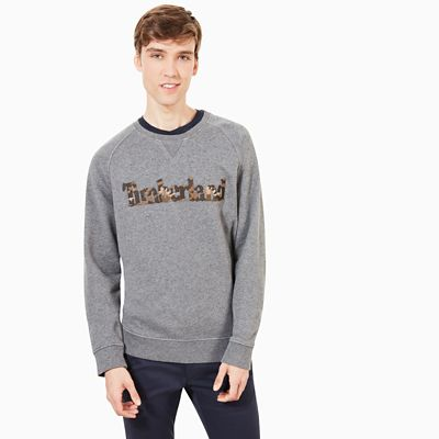 Exeter+River+Logo+Sweatshirt+for+Men+in+Dark+Grey
