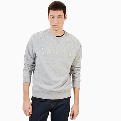 Exeter+River+Logo+Sweatshirt+for+Men+in+Grey