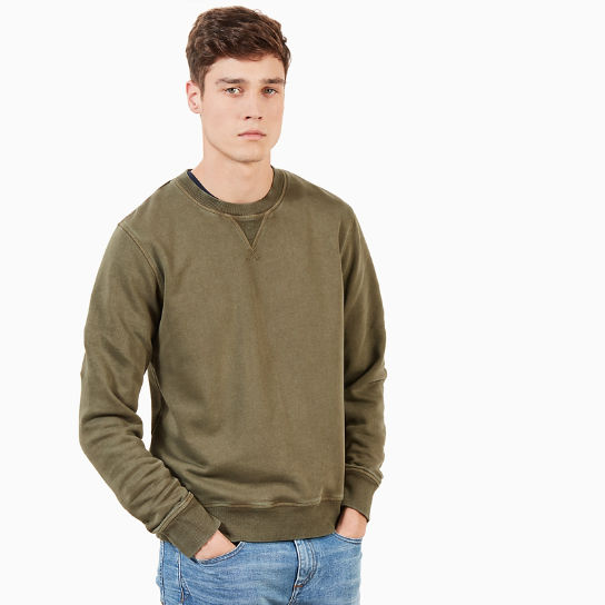 Mad River Vintage Sweatshirt voor Heren in Groen | Timberland