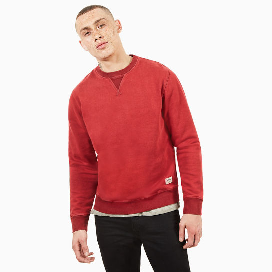 Sweat Mad River Vintage pour homme en rouge | Timberland