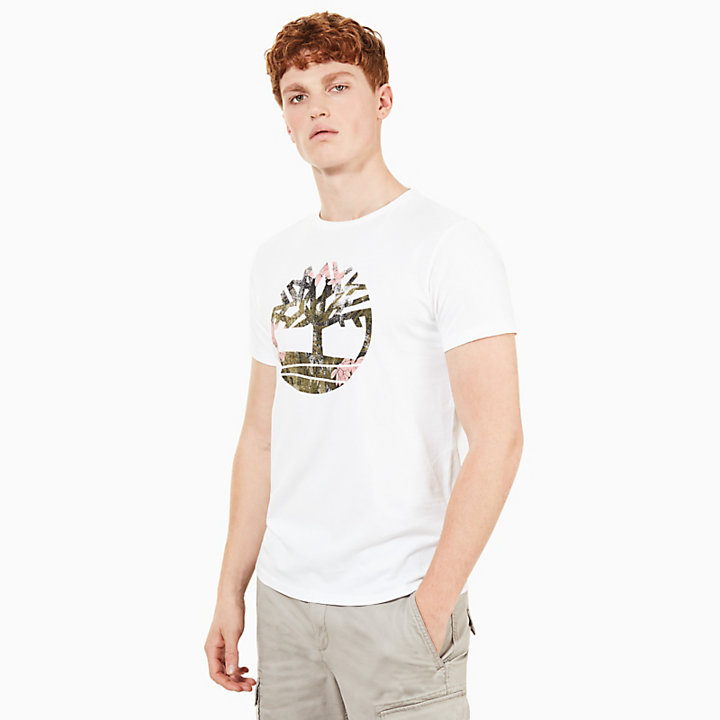Kennebec River Seasonal T-Shirt Herren in Weiß-