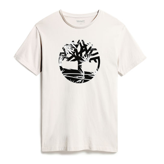 Kennebec River Tree Logo T-Shirt für Herren in Grau | Timberland