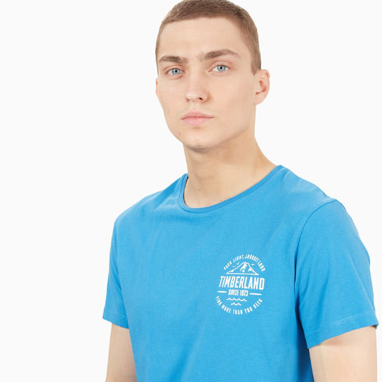 Kennebec River Graphic T-Shirt für Herren in Blau | Timberland