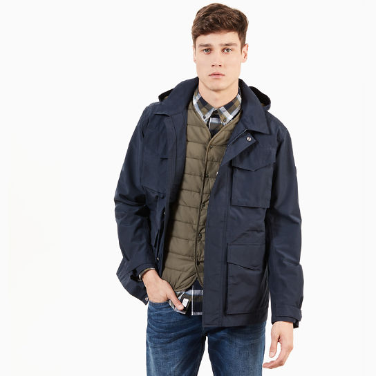 Doubletop Mountain M65 Jacket For Men In Navy Timberland