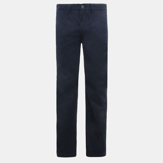 Webster Lake Classic Chinos for Men in Navy | Timberland