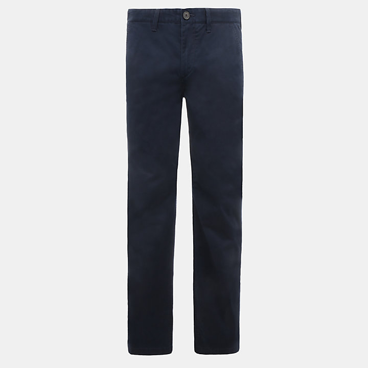 Webster Lake Classic Chinos for Men in Navy-