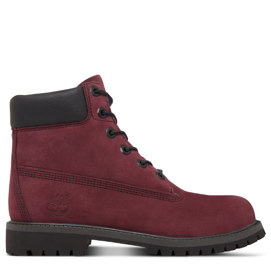 6-Inch Premium Boot Junior rouge vif | Timberland