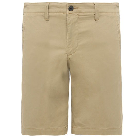 Shorts Chino da Uomo Squam Lake in kaki | Timberland